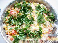 Foto till recept: ris med majs och tomater