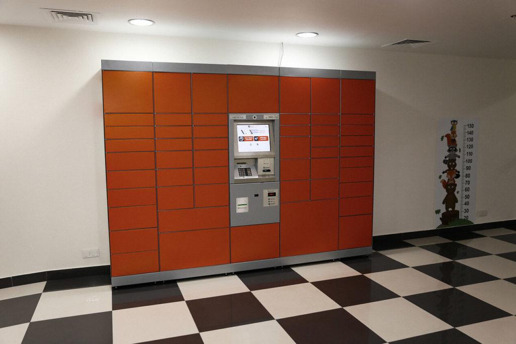Installation de postamat