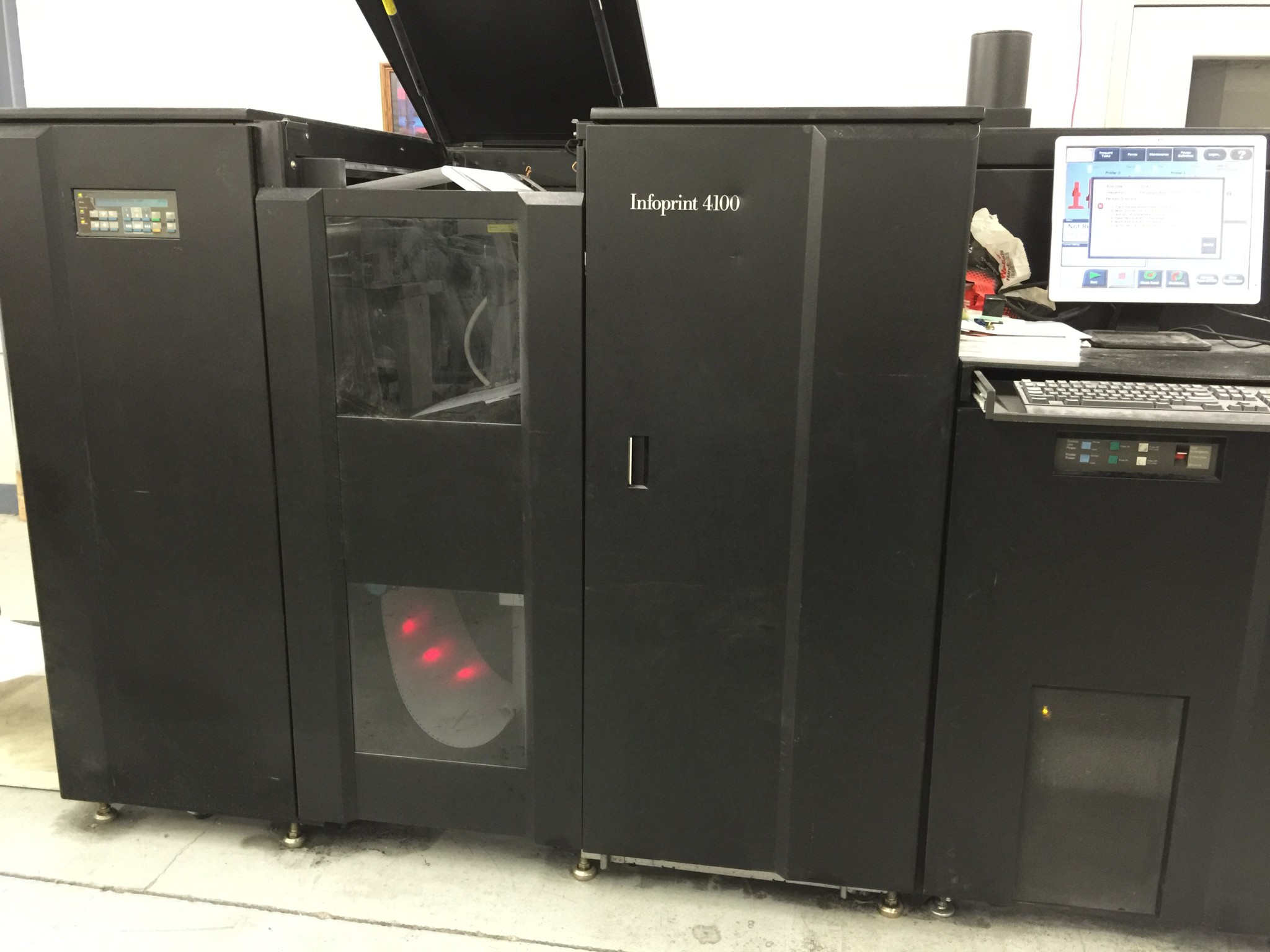 Ibm Ricoh Infoprint 4100 Hd1 Hd2 For Sale Pre Owned