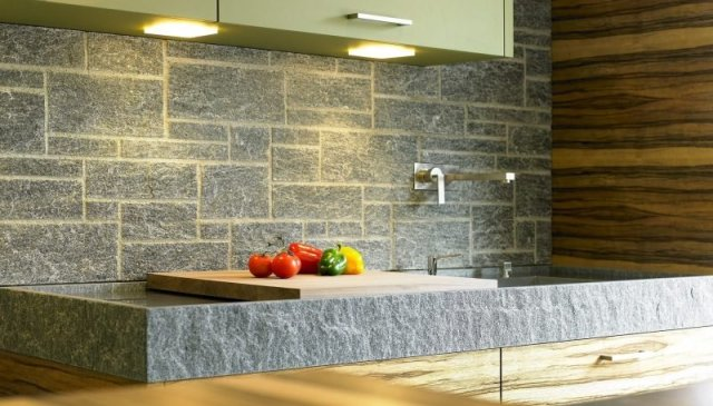 Spritzschutz für Küche: 39 Ideen für Individuelles Design ...