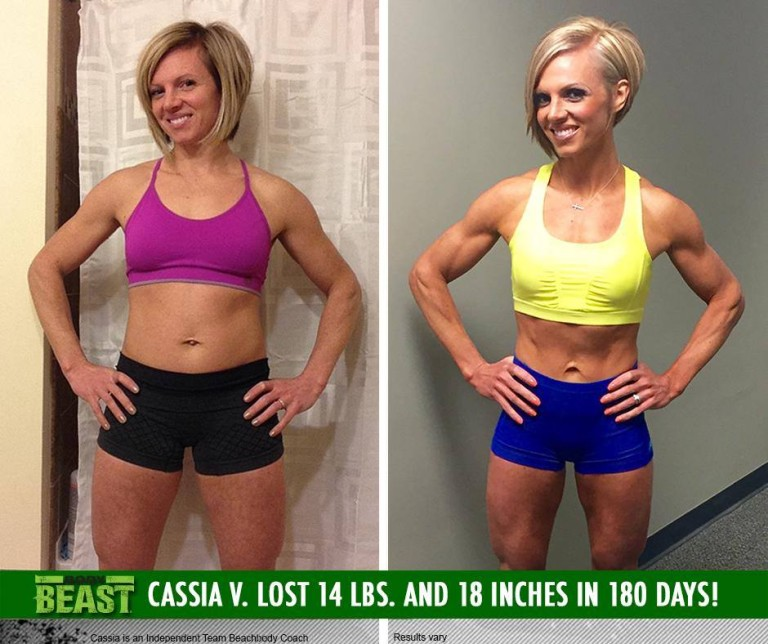 p90x2 results women - 768×644