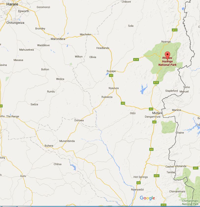 Great Zimbabwe World Map.Great Zimbabwe World Map