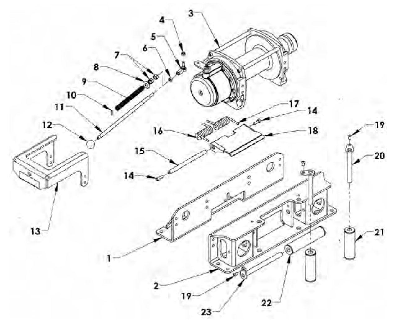 Great warn xd9000 wiring diagram gallery wiring diagram ideas