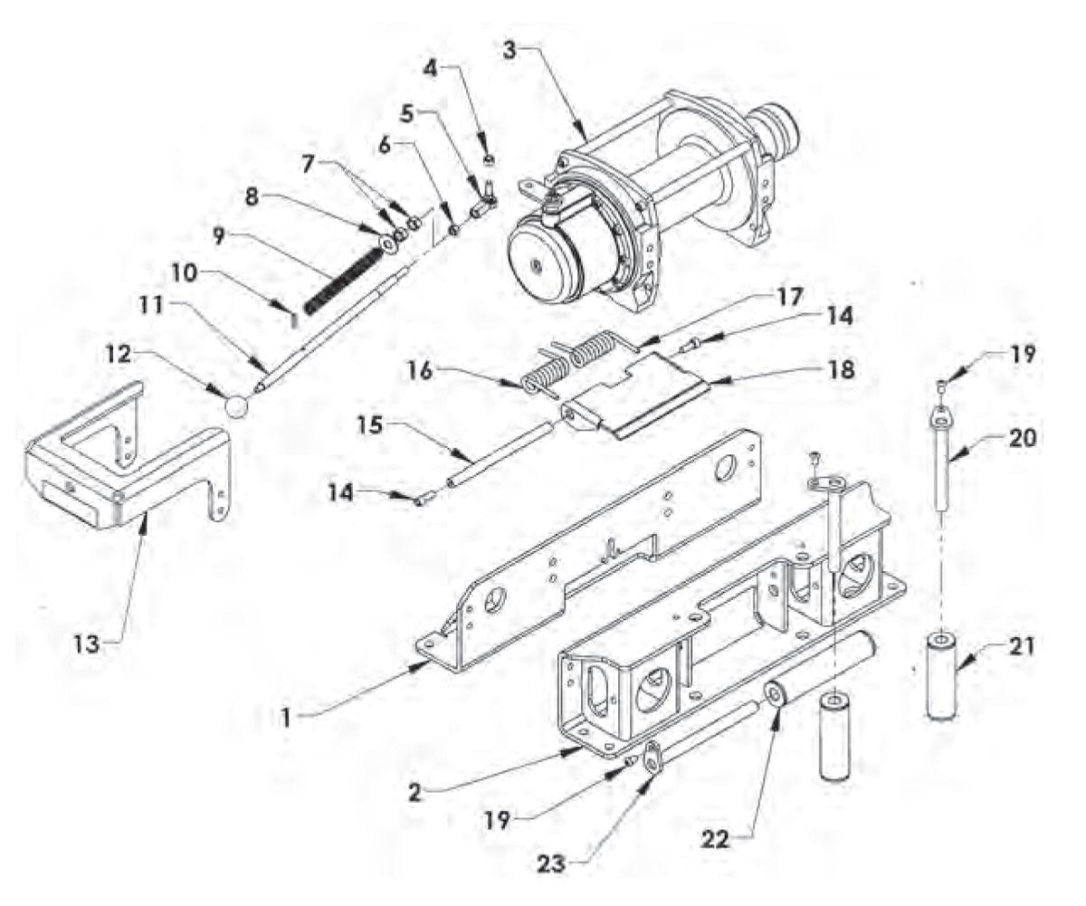 Pretty a selection of warn atv winch wiring diagram gallery chevron 12 series lcg gen ii