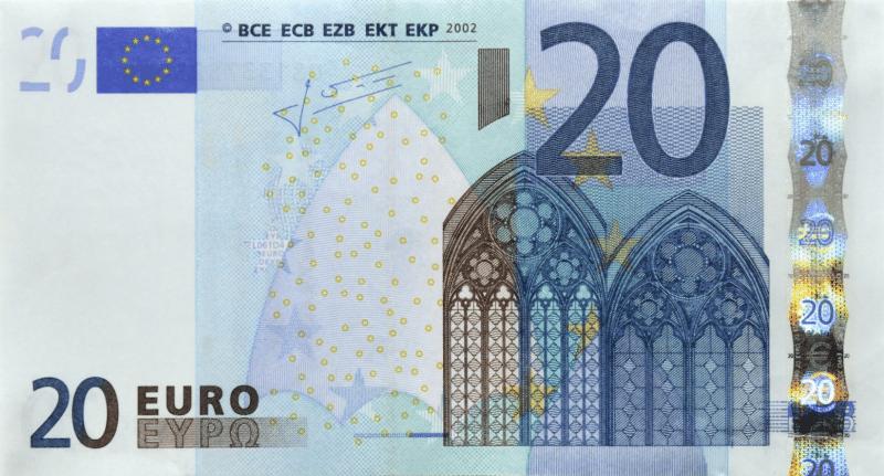 Az euró minimális számlája