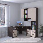 Компьютерный стол со шкафом — виды конструкций и правила выбора
