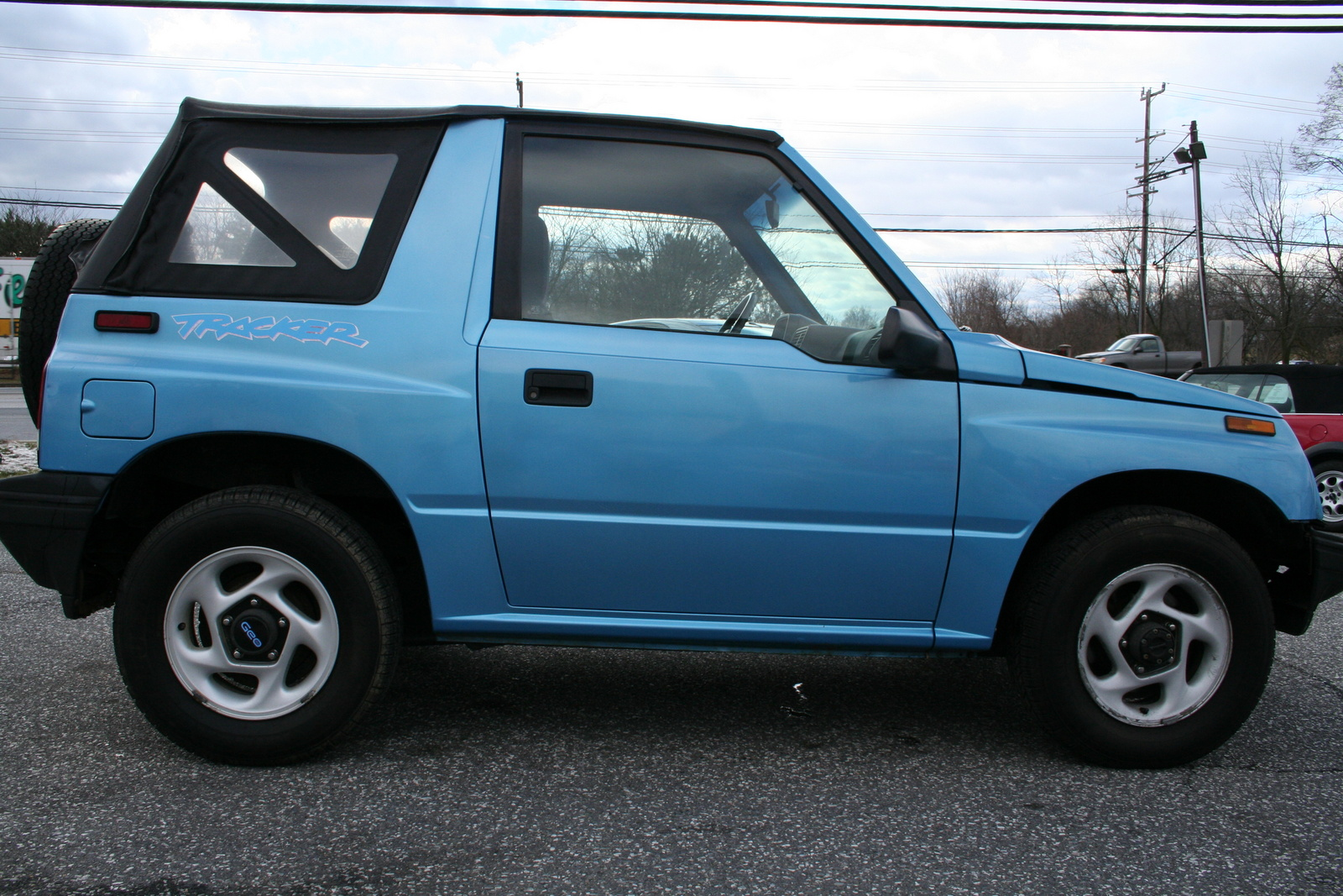 1995 Geo Tracker Soft Top Interior