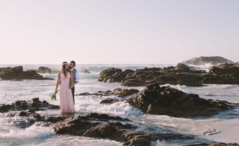 Belinda   Daniel  Pebble Beach Elopement Photography   Big Sur Belinda and Daniel eloped in Pebble Beach along 17 Mile Drive  It s a  hidden gem  For the cost of an entry ticket you can get married here at  certain spots
