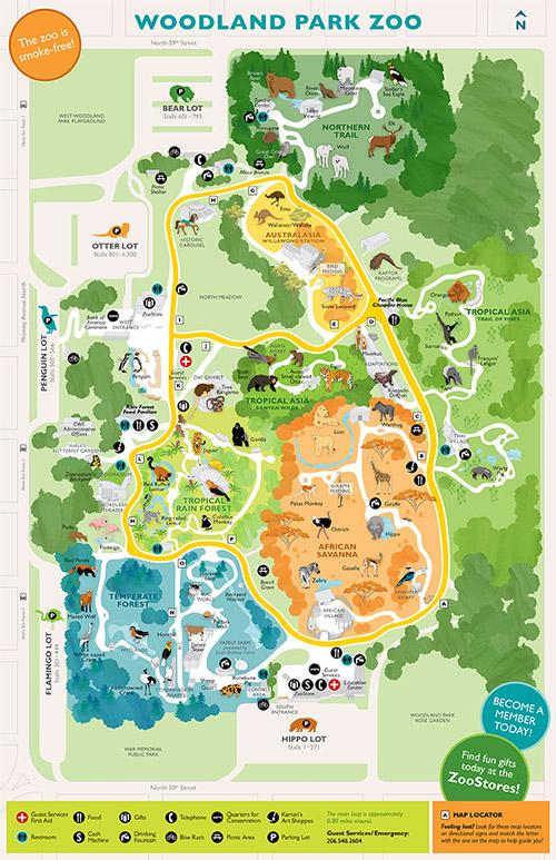 Maps Of Spring Woodlands