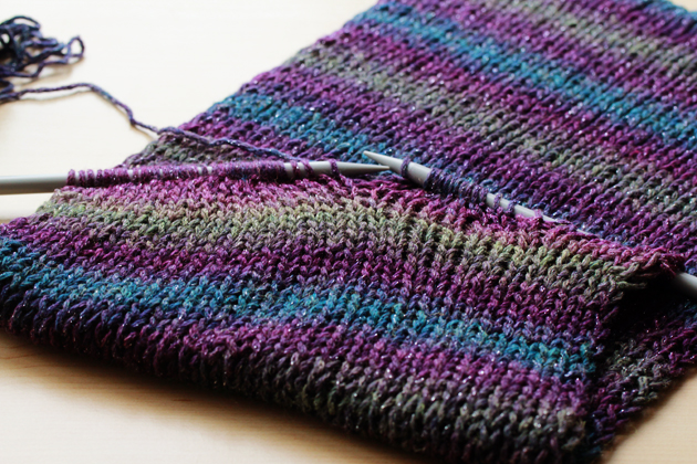 Simple Scarves Knit Purl